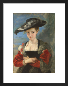 Portrait of Susanna Lunden(?) ('Le Chapeau de Paille') by Peter Paul Rubens