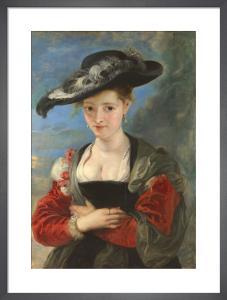 Portrait of Susanna Lunden ('Le Chapeau de Paille') by Peter Paul Rubens