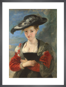 Portrait of Susanna Lunden ('Le Chapeau de Paille') by Peter Paul Rubens