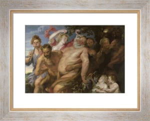 Drunken Silenus supported by Satyrs by Sir Anthony Van Dyck
