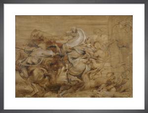 A Lion Hunt by Peter Paul Rubens