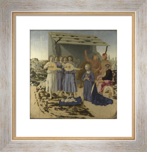 The Nativity by Piero Della Francesca