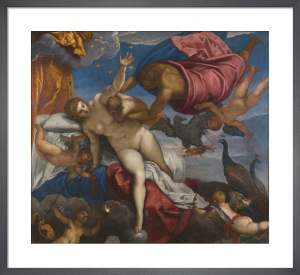 The Origin of the Milky Way by Jacopo Tintoretto