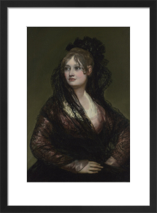 Doña Isabel de Porcel by Francisco de Goya