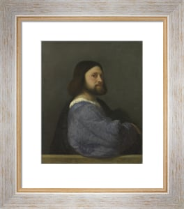 Portrait of Gerolamo (?) Barbarigo by Titian