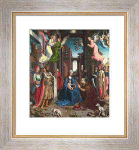 The Adoration of the Kings by Jan Gossaert