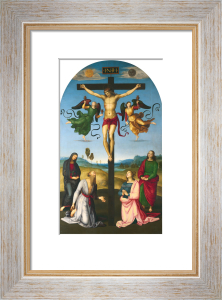 The Crucified Christ with the Virgin Mary, Saints and Angels (The Mond Crucifixion) by Raphael