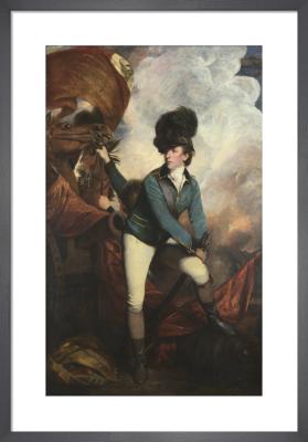 Colonel Tarleton by Sir Joshua Reynolds