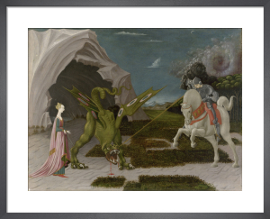 Saint George and the Dragon by Paolo Uccello
