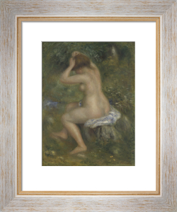 A Bather by Pierre Auguste Renoir