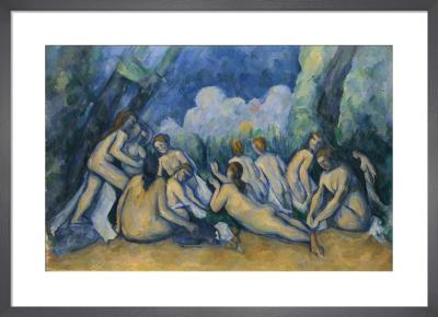Bathers (Les Grandes Baigneuses) by Paul Cezanne