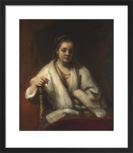 Portrait of Hendrickje Stoffels by Rembrandt van Rijn