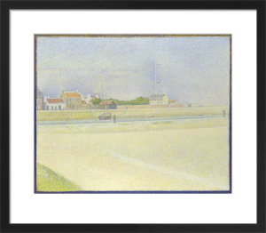 The Channel of Gravelines, Grand Fort-Philippe by Georges Seurat