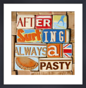 After Surfing Always a Pasty by Norfolk Boy