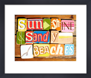 Sunshine And Sandy Beaches by Norfolk Boy