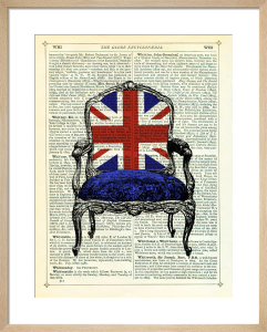 Union Jack Chair by Marion McConaghie