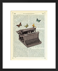 Typewriter by Marion McConaghie