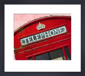 A Very English Phone Box by Keri Bevan