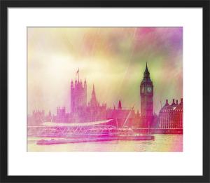 London Morning by Keri Bevan