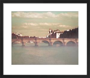Bridges Over Paris by Keri Bevan