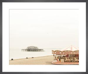 Brighton Carousel by Keri Bevan