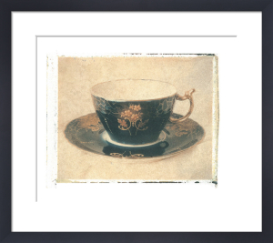 Black Teacup by Deborah Schenck