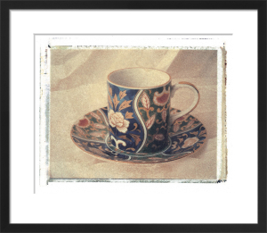 Blue Teacup by Deborah Schenck