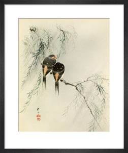 Swallows in Salix by Anonymous Chinese Artist