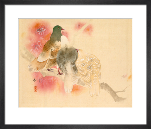 Pigeons by Anonymous Chinese Artist