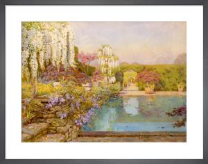 The Swimming Pool, Dyffryn by Edith Helena Adie
