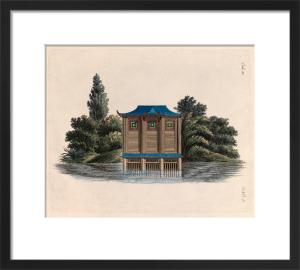 Oriental Boat House by Johann Gottfried Grohmann