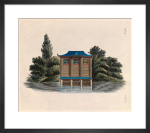 Oriental Boat House by Johann Gottfried Grohmann