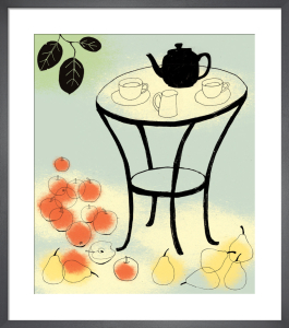 Apples, Pear and Plums Colour by Rosie Scott