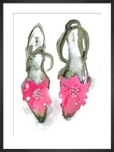Pink Shoes by Bridget Davies