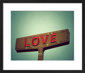 Love Sign by Robert Cadloff