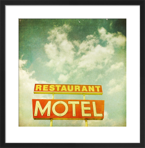 Restaurant Motel by Robert Cadloff