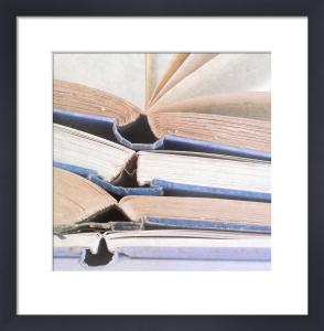Livres Bleus by Deborah Schenck