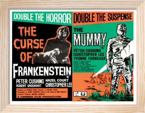 Frankenstein and The Mummy by Hammer