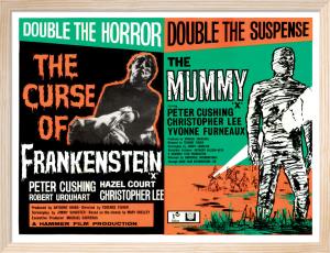 Frankenstein and The Mummy by Hammer