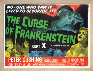 The Curse of Frankenstein by Hammer
