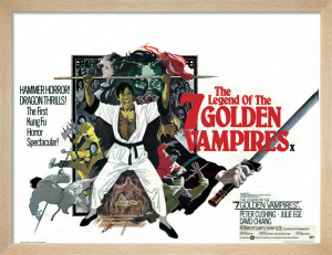 The Legend of the 7 Golden Vampires by Hammer