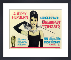Breakfast at Tiffany's - Quad by Cinema Greats