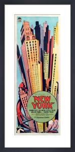 New York by Cinema Greats