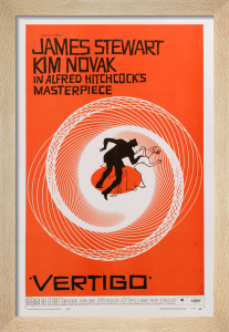 Vertigo by Saul Bass
