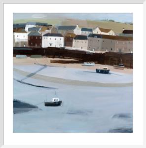 Mousehole Harbour 1 by Hannah Cole
