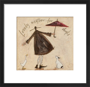 Lovely Weather For Ducks by Sam Toft