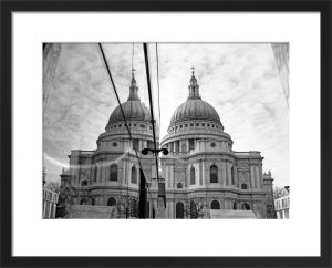 Double vision, St. Paul's Cathedral by Niki Gorick