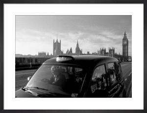 Westminster Bridge cabby by Niki Gorick