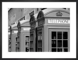Telephone silhouette by Niki Gorick