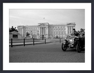 London to Brighton Race passes Buckingham Palace by Niki Gorick